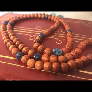 Jewelry - Handmade ✌️real stone mala necklace unisex